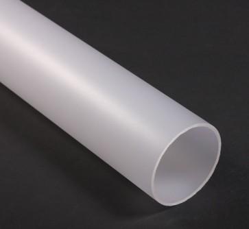 Polycarbonaat Buis Satijn Opaal Lengte 2 meter