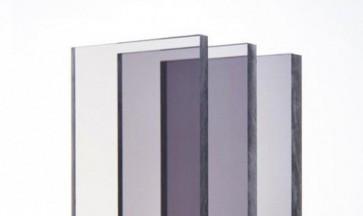 Polycarbonaat-Lexan Smoke Grijs F133 UV-werend plaat 3050x2050