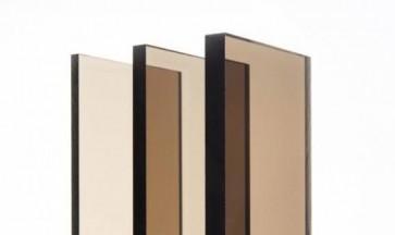 Polycarbonaat-Lexan Smoke bruin F130 UV-werend plaat 3050x2050