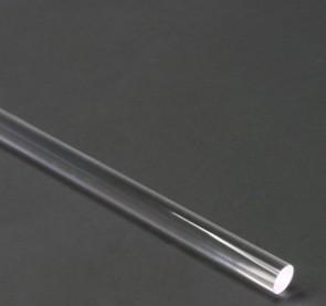 Polycarbonaat Rondstaf Transparant Lengte 1 meter